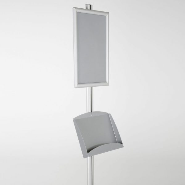 free-standing-stand-in-silver-color-with-1-x-11X17-frame-in-portrait-and-landscape-and-2-x-5.5x8.5-steel-shelf-single-sided-13