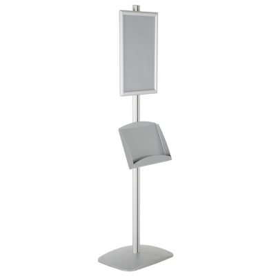 free-standing-stand-in-silver-color-with-1-x-11X17-frame-in-portrait-and-landscape-and-2-x-5.5x8.5-steel-shelf-single-sided-15
