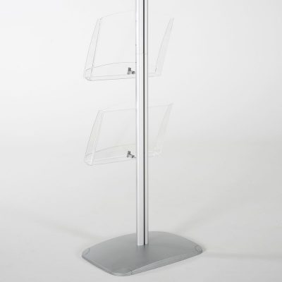 free-standing-stand-in-silver-color-with-1-x-11X17-frame-in-portrait-and-landscape-and-2-x-8.5x11-clear-shelf-in-acrylic-single-sided-15