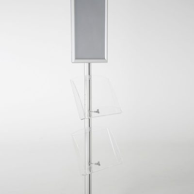 free-standing-stand-in-silver-color-with-1-x-11X17-frame-in-portrait-and-landscape-and-2-x-8.5x11-clear-shelf-in-acrylic-single-sided-16