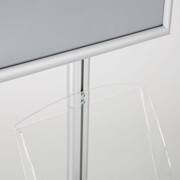 free-standing-stand-in-silver-color-with-1-x-11X17-frame-in-portrait-and-landscape-and-2-x-8.5x11-clear-shelf-in-acrylic-single-sided-9