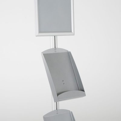 free-standing-stand-in-silver-color-with-1-x-11X17-frame-in-portrait-and-landscape-and-2-x-8.5x11-steel-shelf-single-sided-14