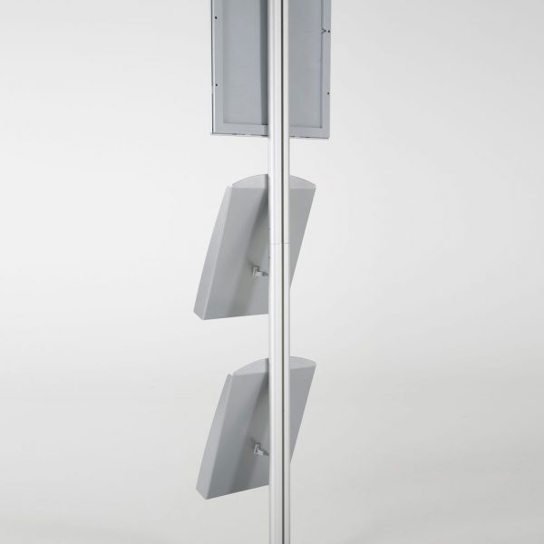 free-standing-stand-in-silver-color-with-1-x-11X17-frame-in-portrait-and-landscape-and-2-x-8.5x11-steel-shelf-single-sided-17