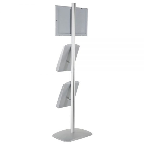 free-standing-stand-in-silver-color-with-1-x-11X17-frame-in-portrait-and-landscape-and-2-x-8.5x11-steel-shelf-single-sided-23