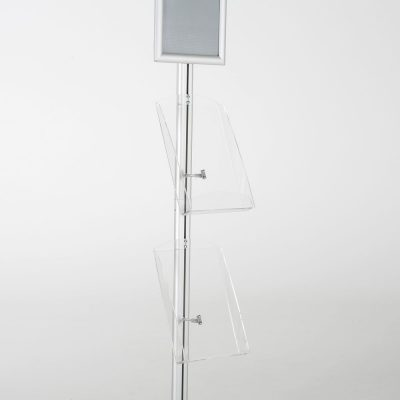 free-standing-stand-in-silver-color-with-1-x-8.5X11-frame-in-portrait-and-landscape-and-2-x-8.5x11-clear-shelf-in-acrylic-single-sided-11
