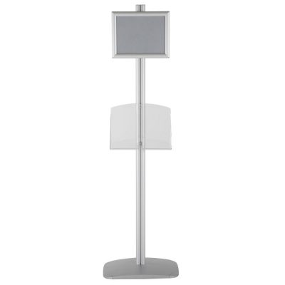 free-standing-stand-in-silver-color-with-1-x-8.5x11-frame-in-portrait-and-landscape-and-1-2-x-8.5x11-clear-shelf-in-acrylic-single-sided-14