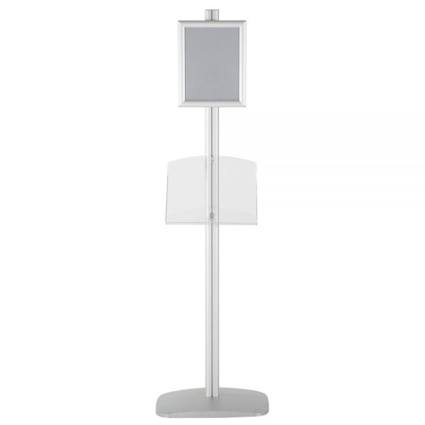 free-standing-stand-in-silver-color-with-1-x-8.5x11-frame-in-portrait-and-landscape-and-1-2-x-8.5x11-clear-shelf-in-acrylic-single-sided-5