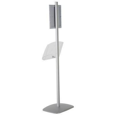 free-standing-stand-in-silver-color-with-1-x-8.5x11-frame-in-portrait-and-landscape-and-1-2-x-8.5x11-clear-shelf-in-acrylic-single-sided-7