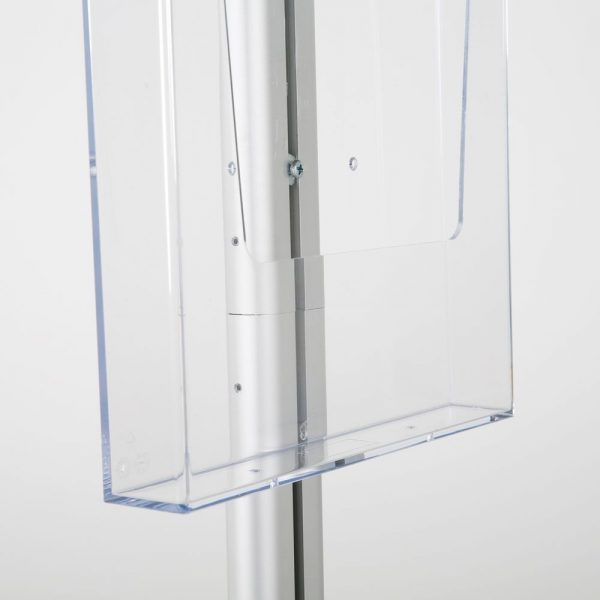 free-standing-stand-in-silver-color-with-1-x-8.5x11-frame-in-portrait-and-landscape-and-1-x-8.5x11-clear-pocket-shelf-single-sided-10