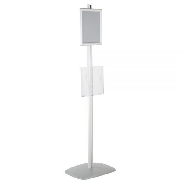 free-standing-stand-in-silver-color-with-1-x-8.5x11-frame-in-portrait-and-landscape-and-1-x-8.5x11-clear-pocket-shelf-single-sided-16