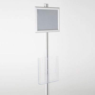 free-standing-stand-in-silver-color-with-1-x-8.5x11-frame-in-portrait-and-landscape-and-1-x-8.5x11-clear-pocket-shelf-single-sided-6
