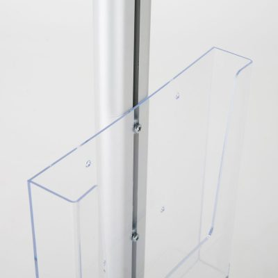 free-standing-stand-in-silver-color-with-1-x-8.5x11-frame-in-portrait-and-landscape-and-1-x-8.5x11-clear-pocket-shelf-single-sided-9