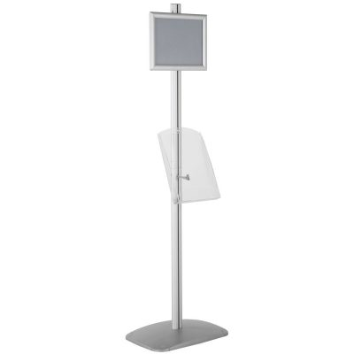 free-standing-stand-in-silver-color-with-1-x-8.5x11-frame-in-portrait-and-landscape-and-1-x-8.5x11-clear-shelf-in-acrylic-single-sided-13