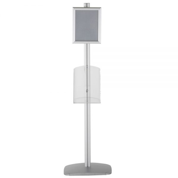 free-standing-stand-in-silver-color-with-1-x-8.5x11-frame-in-portrait-and-landscape-and-1-x-8.5x11-clear-shelf-in-acrylic-single-sided-6