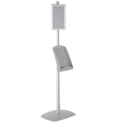 free-standing-stand-in-silver-color-with-1-x-8.5x11-frame-in-portrait-and-landscape-and-1-x-8.5x11-steel-shelf-single-sided-14