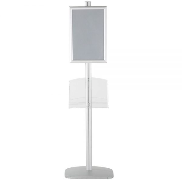 free-standing-stand-in-silver-color-with-2-x-11X17-frame-in-portrait-and-landscape-and-2-2-x-8.5x11-clear-shelf-in-acrylic-double-sided-10