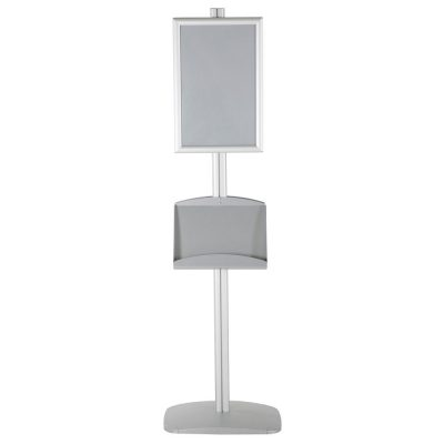 free-standing-stand-in-silver-color-with-2-x-11X17-frame-in-portrait-and-landscape-and-2-x-5.58.5-steel-shelf-double-sided-5