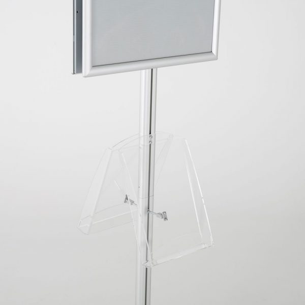 free-standing-stand-in-silver-color-with-2-x-11X17-frame-in-portrait-and-landscape-and-2-x-8.5x11-clear-shelf-in-acrylic-double-sided-9