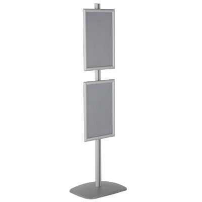 free-standing-stand-in-silver-color-with-2-x-11x17-frame-in-portrait-and-landscape-position-single-sided-11