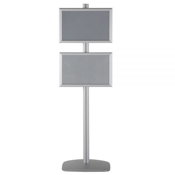free-standing-stand-in-silver-color-with-2-x-11x17-frame-in-portrait-and-landscape-position-single-sided-7