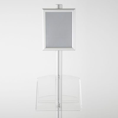 free-standing-stand-in-silver-color-with-2-x-8.5x11-frame-in-portrait-and-landscape-and-2-2-x-8.5x11-clear-shelf-in-acrylic-double-sided-11