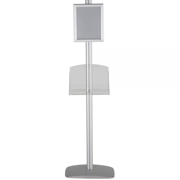 free-standing-stand-in-silver-color-with-2-x-8.5x11-frame-in-portrait-and-landscape-and-2-2-x-8.5x11-clear-shelf-in-acrylic-double-sided-5