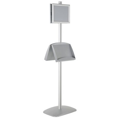 free-standing-stand-in-silver-color-with-2-x-8.5x11-frame-in-portrait-and-landscape-and-2-x-5.5x8.5-steel-shelf-double-sided-11