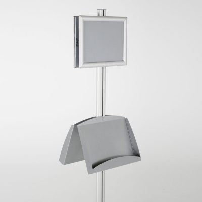 free-standing-stand-in-silver-color-with-2-x-8.5x11-frame-in-portrait-and-landscape-and-2-x-5.5x8.5-steel-shelf-double-sided-12