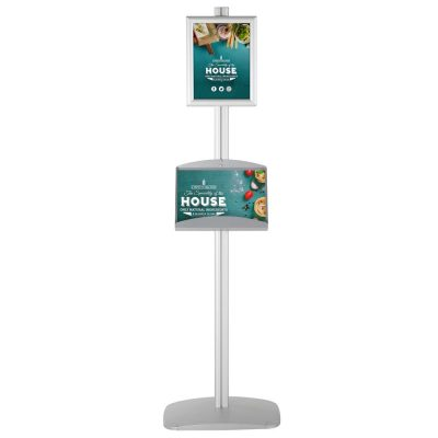 free-standing-stand-in-silver-color-with-2-x-8.5x11-frame-in-portrait-and-landscape-and-2-x-5.5x8.5-steel-shelf-double-sided-4