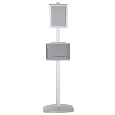 free-standing-stand-in-silver-color-with-2-x-8.5x11-frame-in-portrait-and-landscape-and-2-x-5.5x8.5-steel-shelf-double-sided-5