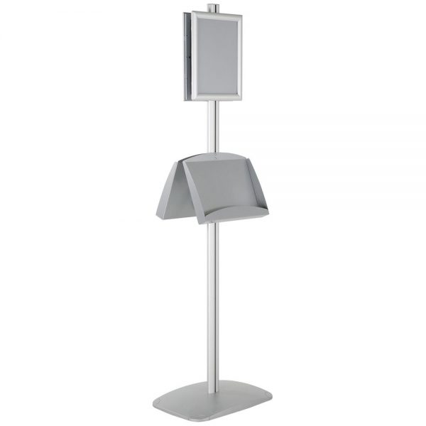 free-standing-stand-in-silver-color-with-2-x-8.5x11-frame-in-portrait-and-landscape-and-2-x-5.5x8.5-steel-shelf-double-sided-6