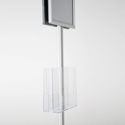 free-standing-stand-in-silver-color-with-2-x-8.5x11-frame-in-portrait-and-landscape-and-2-x-8.5x11-clear-pocket-shelf-double-sided-13