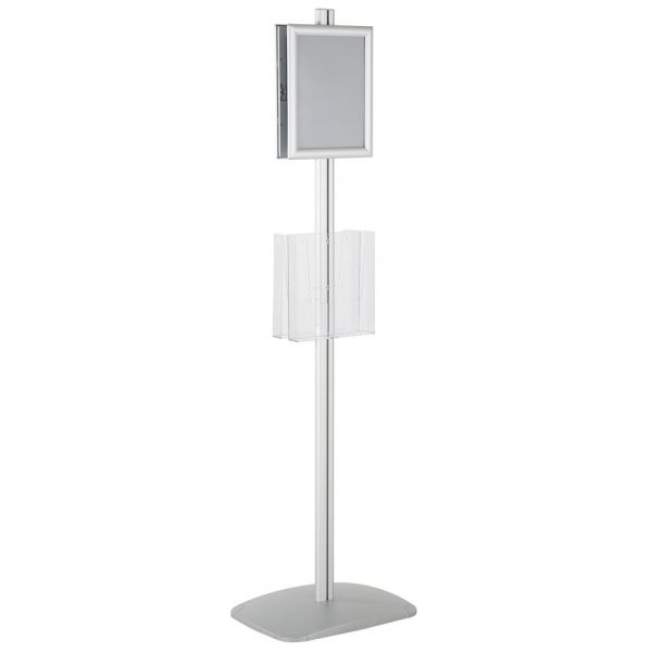free-standing-stand-in-silver-color-with-2-x-8.5x11-frame-in-portrait-and-landscape-and-2-x-8.5x11-clear-pocket-shelf-double-sided-5
