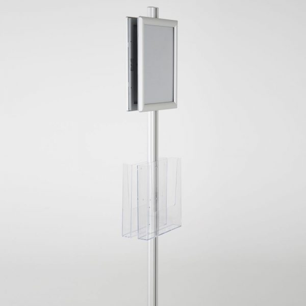 free-standing-stand-in-silver-color-with-2-x-8.5x11-frame-in-portrait-and-landscape-and-2-x-8.5x11-clear-pocket-shelf-double-sided-7