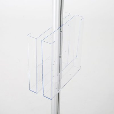 free-standing-stand-in-silver-color-with-2-x-8.5x11-frame-in-portrait-and-landscape-and-2-x-8.5x11-clear-pocket-shelf-double-sided-9