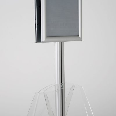 free-standing-stand-in-silver-color-with-2-x-8.5x11-frame-in-portrait-and-landscape-and-2-x-8.5x11-clear-shelf-in-acrylic-double-sided-10