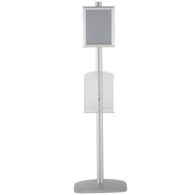 free-standing-stand-in-silver-color-with-2-x-8.5x11-frame-in-portrait-and-landscape-and-2-x-8.5x11-clear-shelf-in-acrylic-double-sided-5