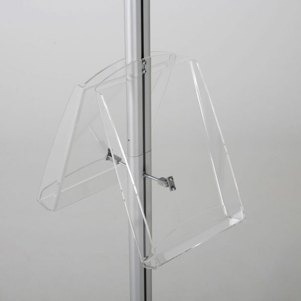 free-standing-stand-in-silver-color-with-2-x-8.5x11-frame-in-portrait-and-landscape-and-2-x-8.5x11-clear-shelf-in-acrylic-double-sided-9