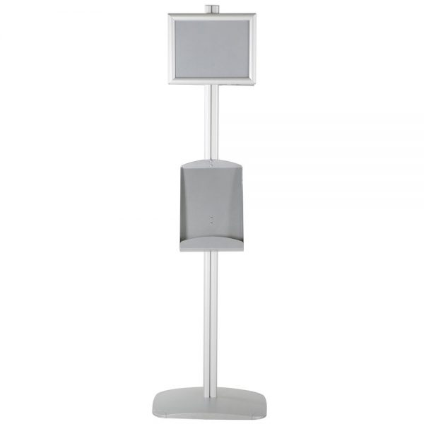 free-standing-stand-in-silver-color-with-2-x-8.5x11-frame-in-portrait-and-landscape-and-2-x-8.5x11-steel-shelf-double-sided-12