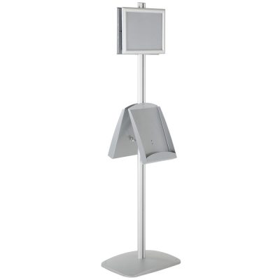 free-standing-stand-in-silver-color-with-2-x-8.5x11-frame-in-portrait-and-landscape-and-2-x-8.5x11-steel-shelf-double-sided-13