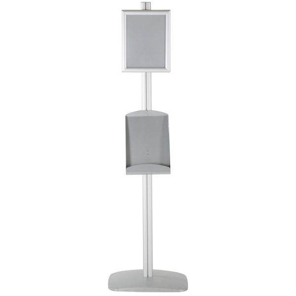 free-standing-stand-in-silver-color-with-2-x-8.5x11-frame-in-portrait-and-landscape-and-2-x-8.5x11-steel-shelf-double-sided-6