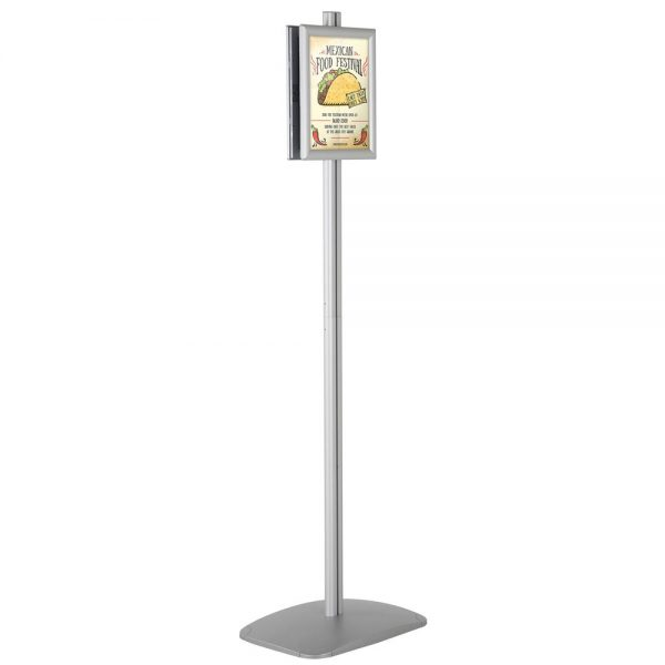 free-standing-stand-in-silver-color-with-2-x-8.5x11-frame-in-portrait-and-landscape-position-double-sided-4