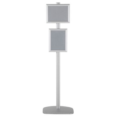 free-standing-stand-in-silver-color-with-2-x-8.5x11-frame-in-portrait-and-landscape-position-single-sided-11