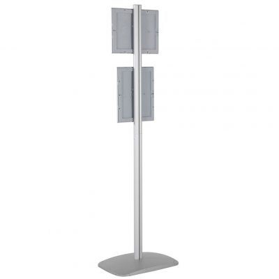 free-standing-stand-in-silver-color-with-2-x-8.5x11-frame-in-portrait-and-landscape-position-single-sided-13