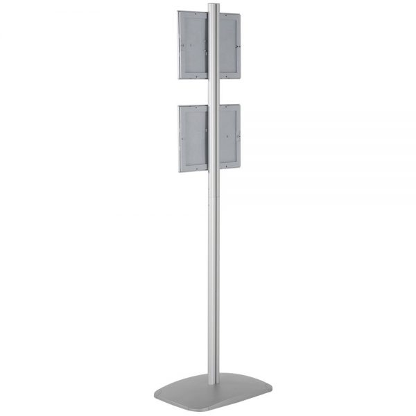 free-standing-stand-in-silver-color-with-2-x-8.5x11-frame-in-portrait-and-landscape-position-single-sided-18