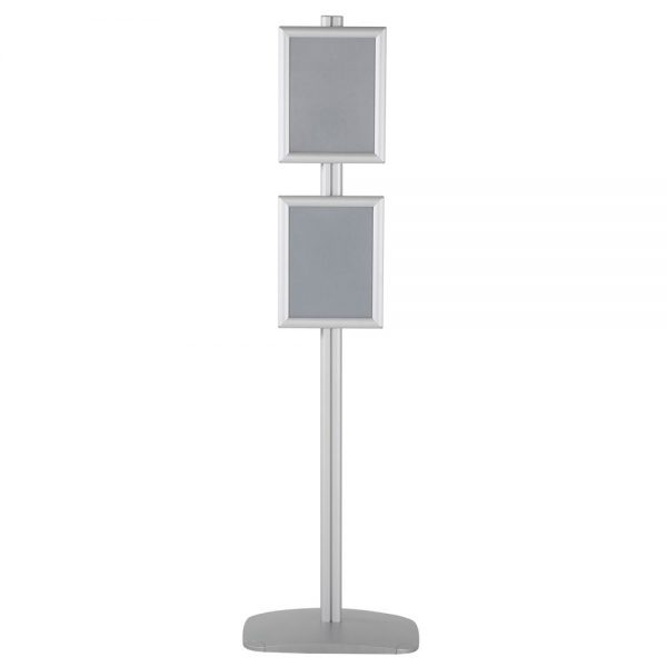 free-standing-stand-in-silver-color-with-2-x-8.5x11-frame-in-portrait-and-landscape-position-single-sided-7