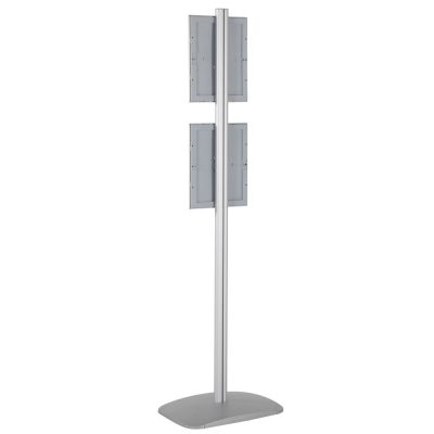 free-standing-stand-in-silver-color-with-2-x-8.5x11-frame-in-portrait-and-landscape-position-single-sided-9