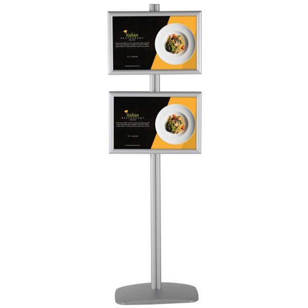 free-standing-stand-in-silver-color-with-4-x-11x17-frame-in-portrait-and-landscape-position-double-sided-5