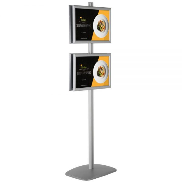 free-standing-stand-in-silver-color-with-4-x-11x17-frame-in-portrait-and-landscape-position-double-sided-6
