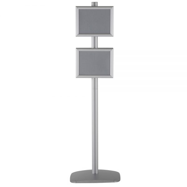 free-standing-stand-in-silver-color-with-4-x-8.5x11-frame-in-portrait-and-landscape-position-double-sided-6